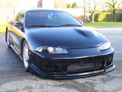 Bay Speed Aero Drift Style Front Bumper - Eclipse 97-99