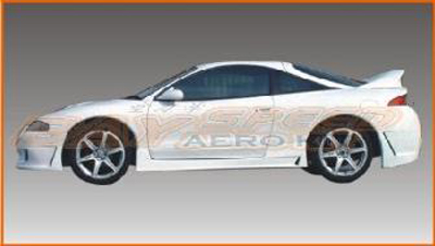 Bay Speed Aero Bd2 Style Side Skirts - Eclipse 95-99