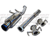 "Megan Racing 3"" Cat-back Exhaust System : 95-99 Eclipse, Talon AWD Turbo"