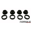 Torque Solution Drive Shaft Carrier Bearing Support Bushings - Galant VR-4