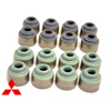 Mitsubishi OEM 8pc Exhaust Valve Stem Seals - DSM