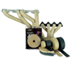 DEI Exhaust/Header Wrap Kit - with Tan Wrap & Aluminum HT Silicone Coating