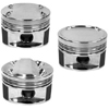 Manley 85.5mm +.5mm Over Bore 100mm Stroke 8.5:1 Dish Pistons w/ Rings - 2G DSM