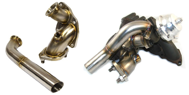 JMFab DSM O2 Housing - External Wastegate Dump