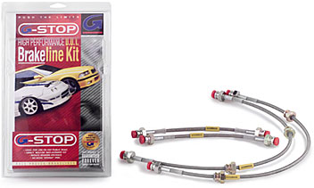 GoodRidge DSM Stainless Brake Lines Kit