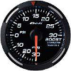 Defi White Racer Series 52mm Boost Gauge (PSi)